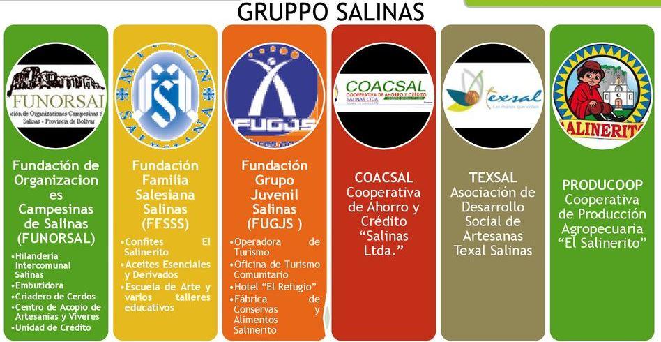 grupposalinas - ORGANIZACIONES DE SALINAS
