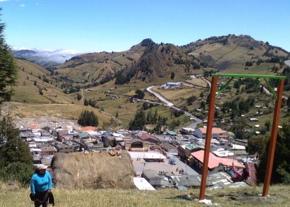 columpio - Lugares Turísticos de Salinas de Guaranda